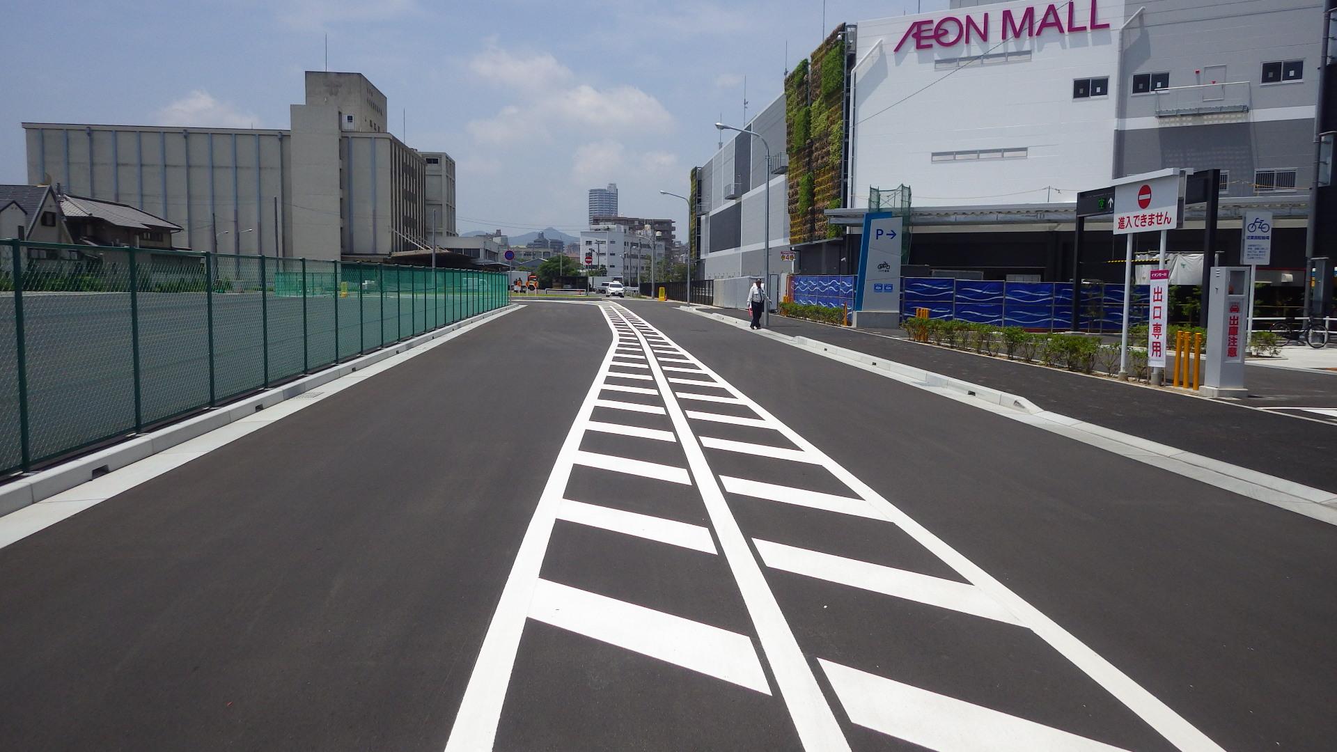 中央市場:道路設備工事03